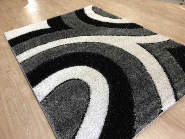 килим шаги екстра 4146 сив